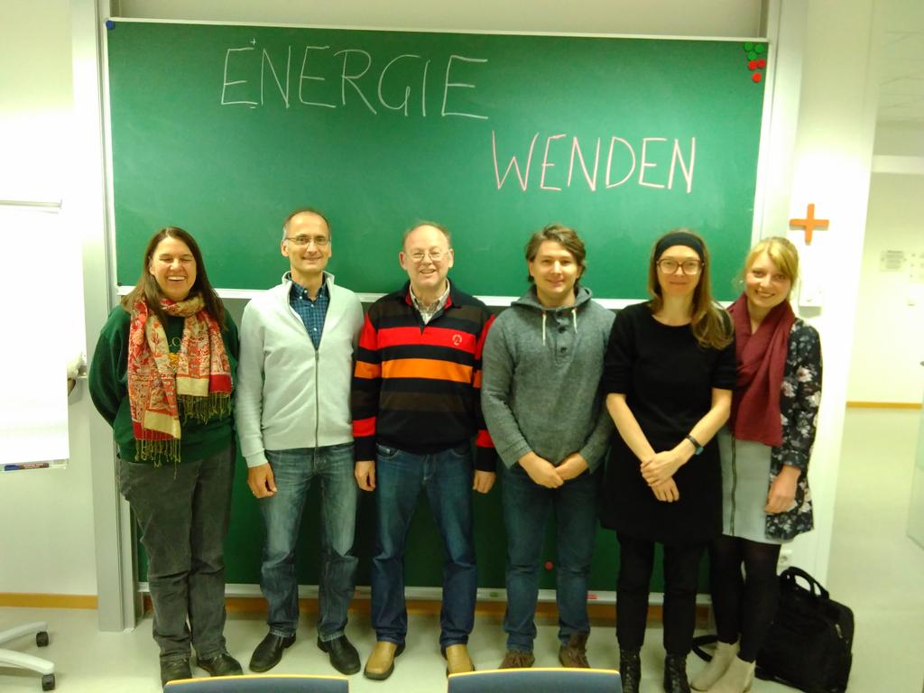 Abschluss-Meeting Projekt Energie-Wenden